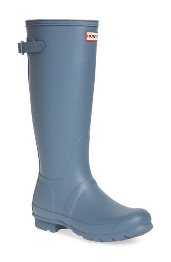 Hunter Original Tall Adjustable Back Waterproof Rain Boot
