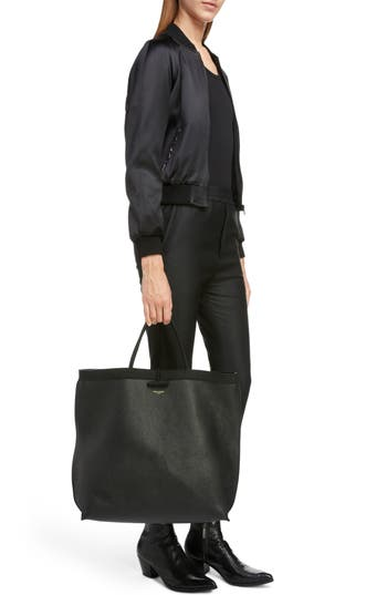 Saint Laurent Patti Calfskin Leather Tote