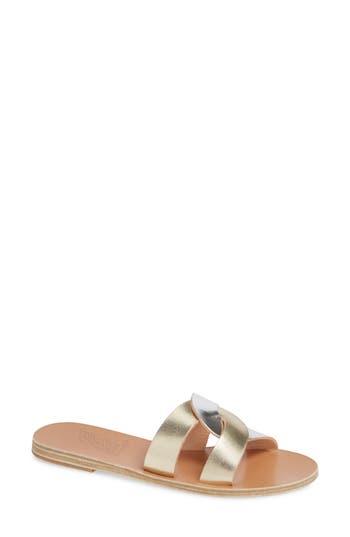 Ancient Greek Sandals Desmos Slide Sandal
