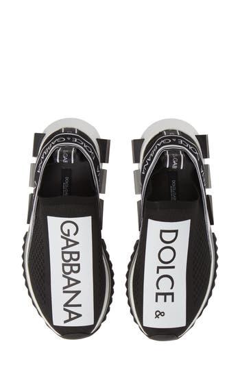 Dolce&Gabbana Sorrento Logo Slip-On Sneaker