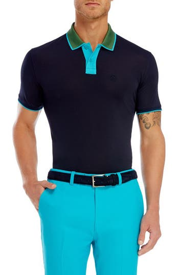 G/FORE Contrast Stretch Polo