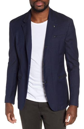 John Varvatos Star USA Bryson Regular Fit Stretch Denim Sport Coat
