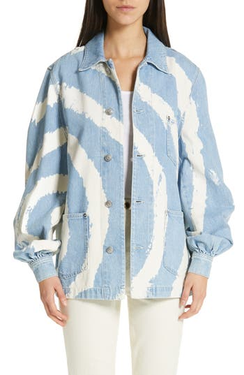 Ganni Oversized Denim Jacket