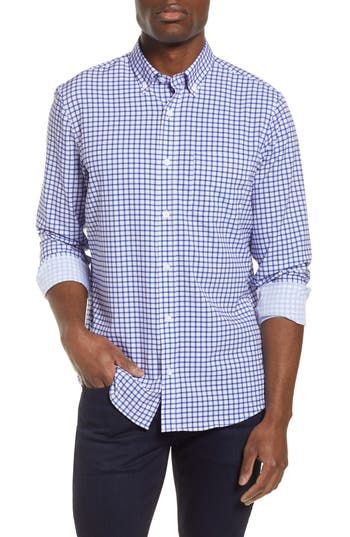 Nordstrom Men's Shop Trim Fit Performance Sport Shirt