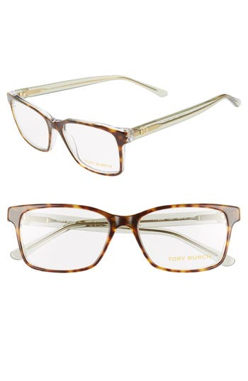 Tory Burch 52mm Rectangle Optical Glasses