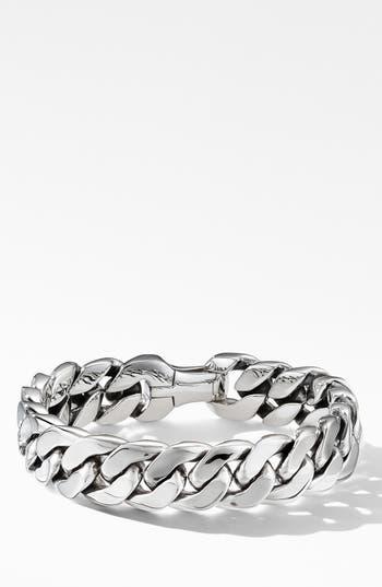David Yurman Curb Chain Bracelet, 14.5mm