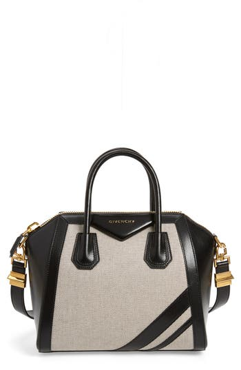 Givenchy Small Antigona Canvas & Leather Satchel
