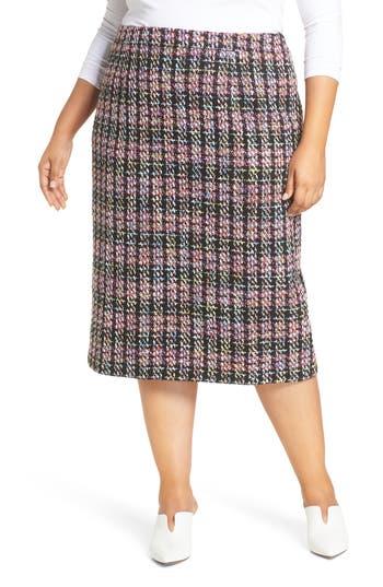 Halogen® Tweed Pencil Skirt