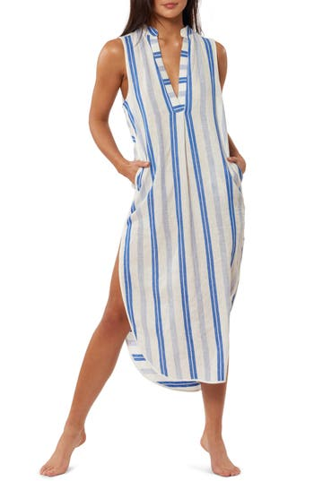 Red Carter Avi Maxi Cover-Up Dress