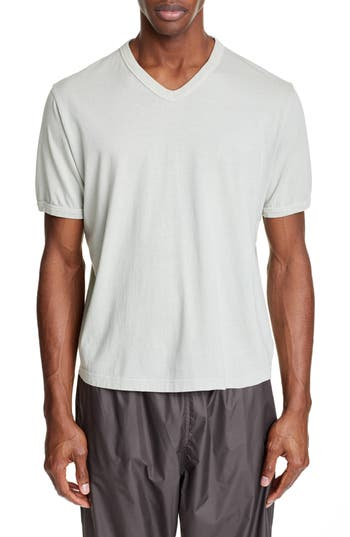 OUR LEGACY Borrowed V-Neck T-Shirt