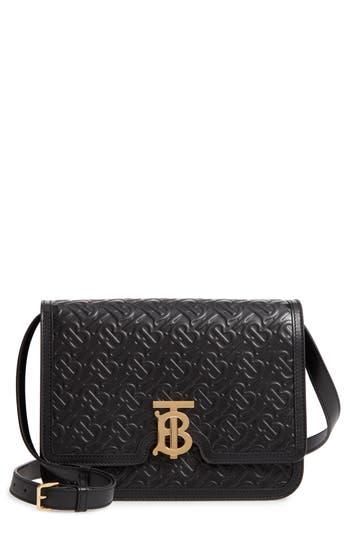 Burberry Medium TB Monogram Leather Bag