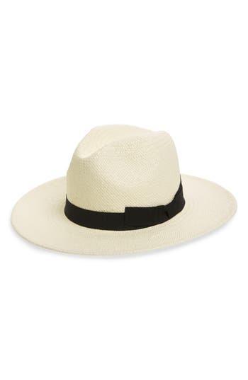 Halogen® Woven Panama Hat