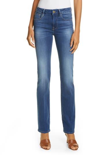 FRAME Le Mini Boot High Waist Jeans (Washington Circle)