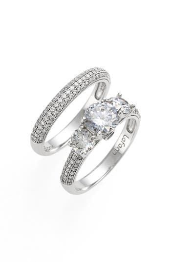 Lafonn 'Lassaire' Engagement Ring and Band