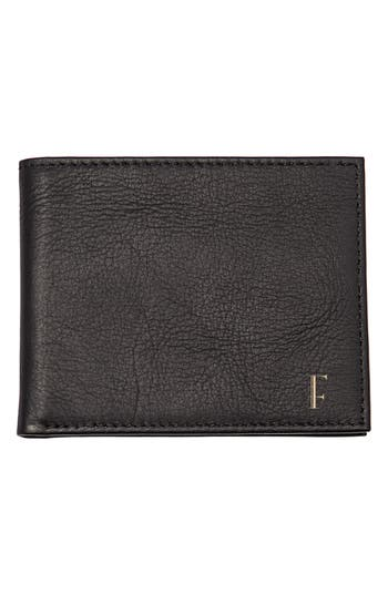 Women's Cathy's Concepts Monogram Bifold Wallet - Black