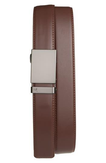Men's Mission Belt 'Gun Metal' Leather Belt