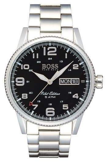 upc 885997186476 hugo boss mens pilot edition analog