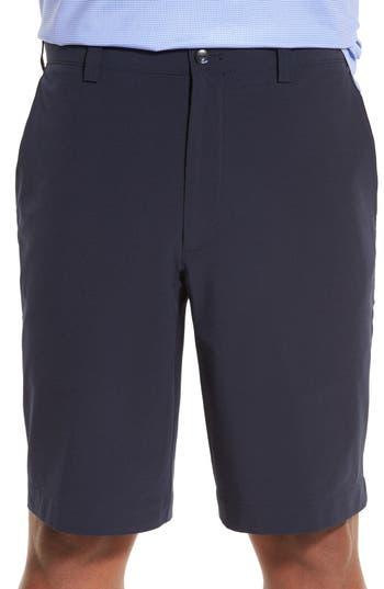 Mens Big  Tall Cutter  Buck Bainbridge Drytec Flat Front Shorts Size 60  Blue