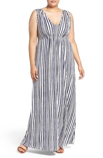 Plus Size Tart Grecia Sleeveless Jersey Maxi Dress