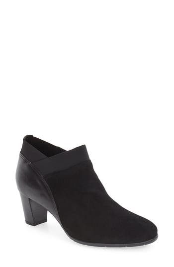 Women's Ara 'Torrence' Almond Toe Zip Bootie