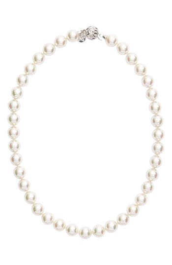 Women's Majorica 12Mm Round Simulated Pearl Necklace