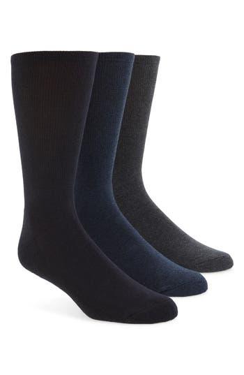 Calvin Klein 3-Pack Cotton Blend Socks