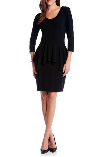 Women's Karen Kane Peplum Sweater Dress