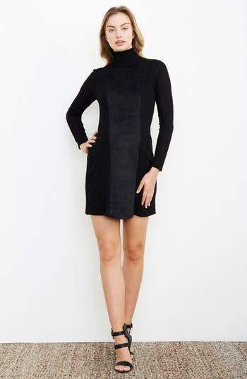 Maternal American Turtleneck Maternity Dress