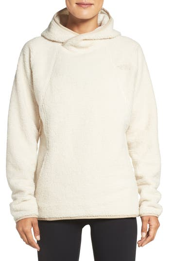 The North Face Hooded Fleece Pullover, Ivory