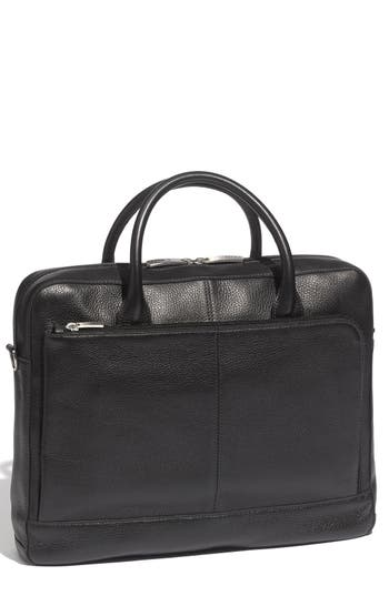 Bosca Slim Leather Briefcase -