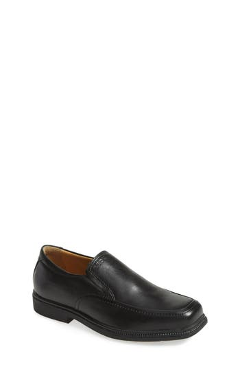 Boys Geox Federico Loafer Size 5.5US  38EU  Black