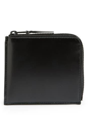 Men's Comme Des Garçons Half Zip French Wallet -