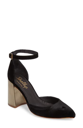 Shellys London Torrance Block Heel Pump