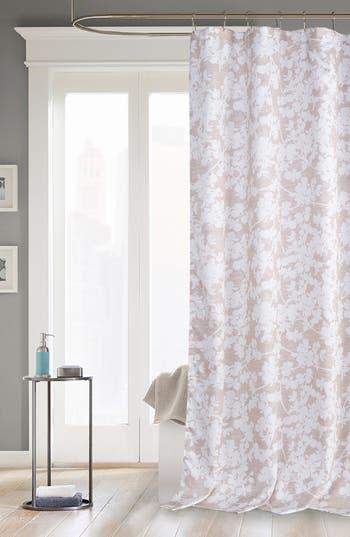 Kensie Ainna Shower Curtain, Size One Size - Beige