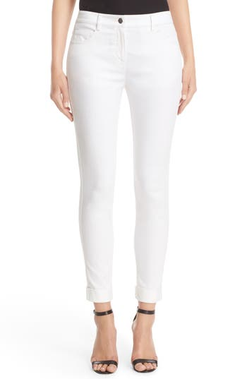 St. John Sport Collection Bardot Slim Capri Jeans