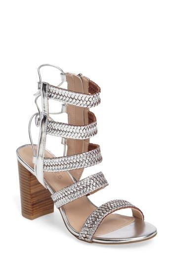 Charles By Charles David Ella Block Heel Sandal- Metallic