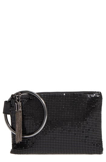 Whiting & Davis Bangle Wristlet - Black at NORDSTROM.com