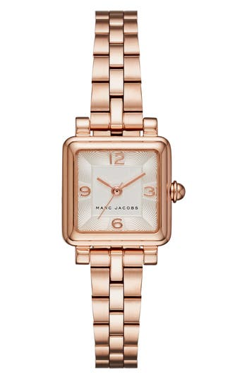 marc jacobs female womens marc jacobs vic bracelet watch 20mm