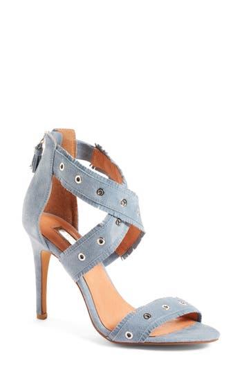 Women's Halogen Amelia Sandal, Size 5.5 M - Blue