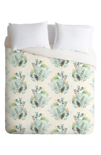 Deny Designs Seaflower Duvet Cover & Sham Set