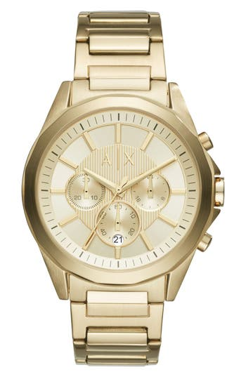 Ax Armani Exchange Chronograph Bracelet Watch, 44Mm