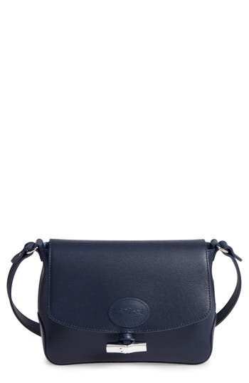 Longchamp Roseau Leather Crossbody Bag -