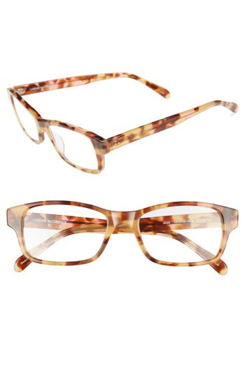 CORINNE MCCORMACK 'JESS' 52MM READING GLASSES - PINK/ TORTOISE