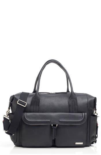 Infant Storsak Leather Diaper Bag