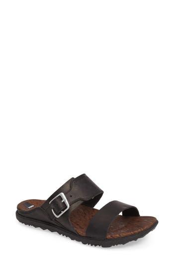 Merrell Around Town Slide Sandal, Black