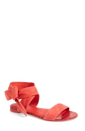 Women's Pour La Victoire Lava Sandal, Size 6 M - Red