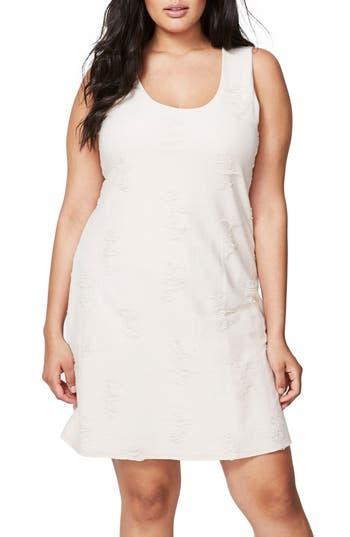 Plus Size Rachel Rachel Roy Shredded Tank Dress