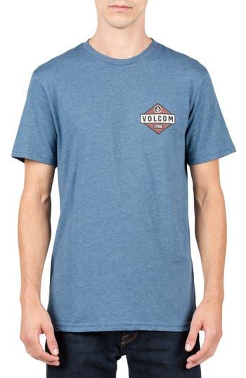 Volcom Caution Graphic T-Shirt, Blue