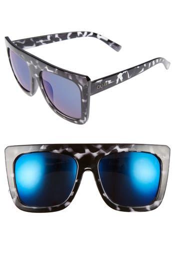 Quay Australia Cafe Racer 55Mm Square Sunglasses -