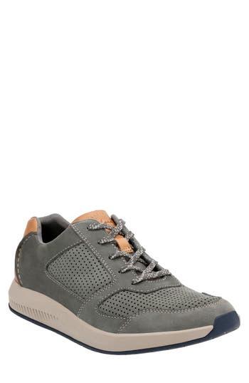 Clarks Sirtis Mix Sneaker, Grey